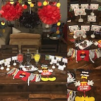 Mickey Mouse Party Decorations Sumter