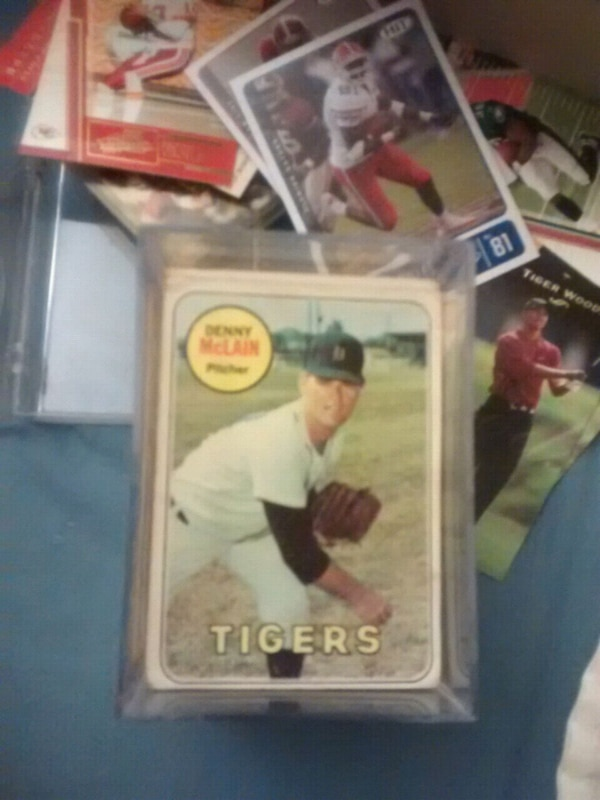 Used Stack Of Vintage 50s And 60s Baseball Cards For Sale