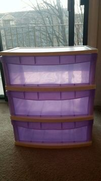 Purple storage container Dale City, 22193