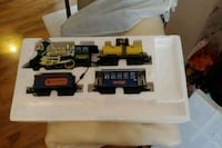 Eastern Express toy train set and tracks. Falling Waters, 25419