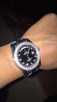 Rolex Presidential Day Date with factory set diamonds this is a platinum watch  Riverdale, 30274