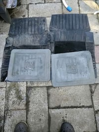 two gray GM car mats Cowichan Valley A, V0R