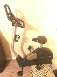 Black and gray stationary bike Chantilly, 20151