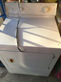 white front-load clothes dryer Bakersfield, 93311