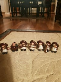 Mexican musicians figurines and figurines