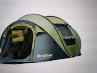 Finether 5 person Pop up Tent Outdoor Ultralight  Riverview, 33579