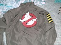 Ghostbusters Windbreaker Jacket and Testtube figures