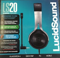 LUCIDSOUND LS20 gaming headset 802 km