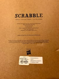 Scrabble Restoration Hardware Adult Collectible Edition Bethesda, 20817