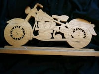 Wooden Indian motorcycle