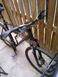 black and gray hardtail mountain bike 45 km