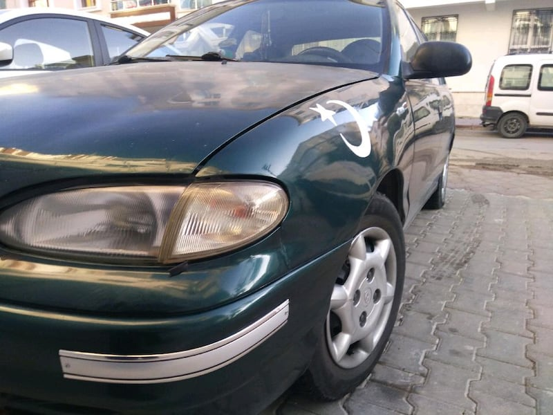 Hyundai Accent 1.5 GLS 1995 model 3