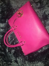 Pink large leather michael kors crossbody bag Universal City, 78148