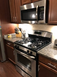 black and gray gas range oven Aldie, 20105