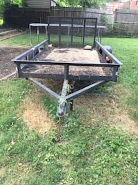 Black and brown utility trailer Capitol Heights, 20743