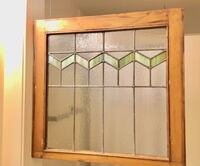 Antique Glass Window- Can be hanged from ceiling Vancouver, V5L 3L7