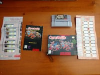 Snes Game collection with console Vancouver