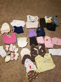 Girls lot of clothes