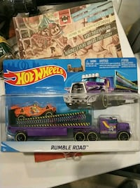 Hot wheels çekici tır rumble road