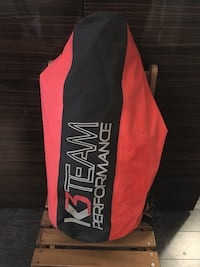 black and red K3 Team Performance textile