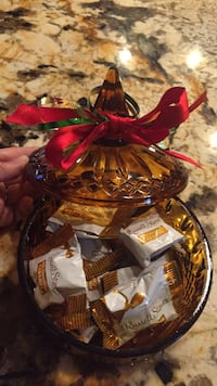 Christmas candy dish ready for giving Lafayette, 70503