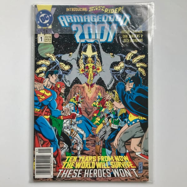 Armageddon 2001 Mini #1 Comic Book