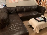 Leather sectional Columbia, 21045