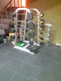 barbell rack, ez bar , duz bar