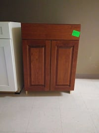 brown wooden cabinet with drawer Oakton, 22124