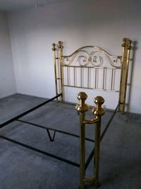 Queensize Brass Bed /Frame