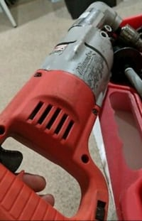 """MILWAUKEE 3107-6 7 Amp 1/2"""" Corded Heavy Right-Ang Silver Spring, 20905"""