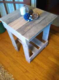 Farm House Handmade , Rustic, Custom End Table