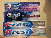 Crest toothpaste Fort Bliss