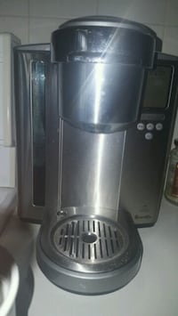 stainless steel and black juice extractor Toronto, M6S