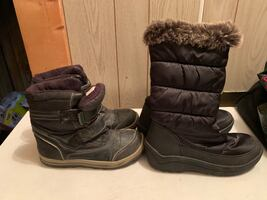 Boys and girls boots