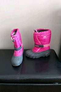 Sorel snow boots size 5 (ladies/youth)
