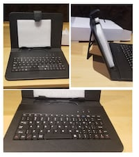 Brand new tablet case with keyboard