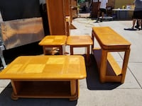 two brown wooden side tables Northglenn, 80234