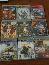 PS3 games Newburgh, 12550