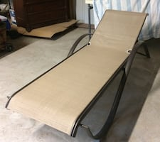 Outdoor/pool chaise lounge chair