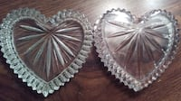 """""""Heart-Shaped"""" Crystal Trinket Set Willow Grove"""