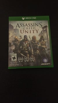 Assassin's Creed Unity Xbox One game case Richmond, V7E 2H4