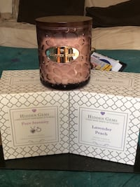 Brand new Hidden Gems Scented Candles with 2 Jewelry surprises in each candle  Toronto, M4A 1A3