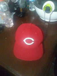 red fitted cap Guelph, N1G 2V3