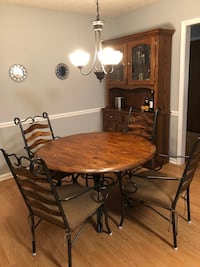 Dinning Table with chairs and China Cabinet Conyers, 30094