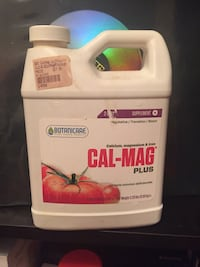 CAL-MAG calcium , magnesium , and iron for growing plants  Toronto, M5A