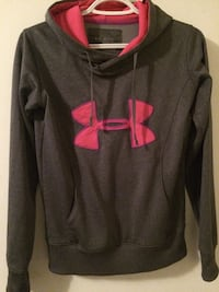 women's black and pink Under Armour pull over hoodie Lower Sackville, B4C 1N2