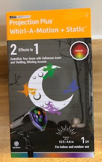 Brand new Halloween projection light show.(pick up only)