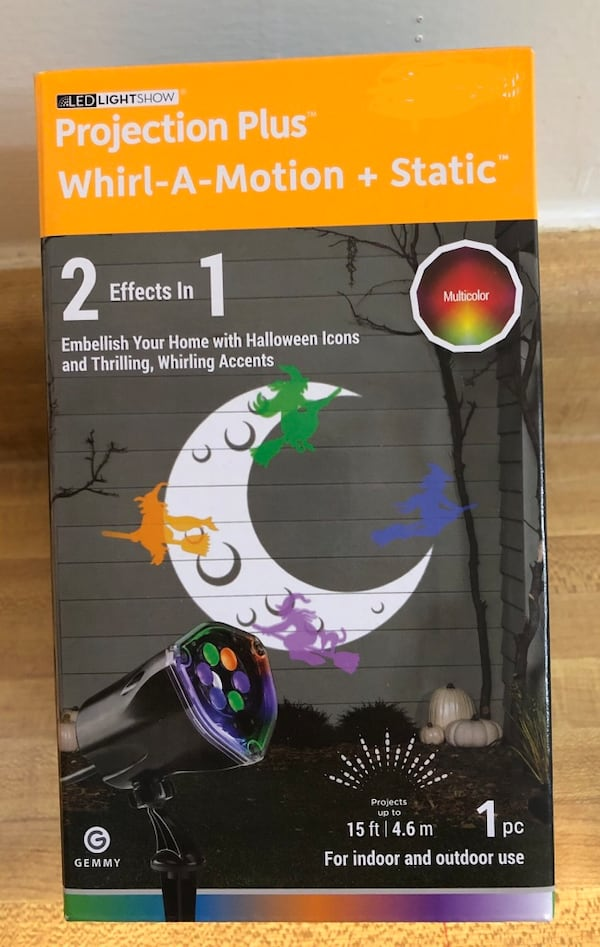 Brand new Halloween projection light show.(pick up only) eeb5639c-64e5-4624-b69a-19feee04a093