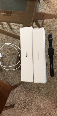 black Apple watch with black sports band Strongsville, 44136